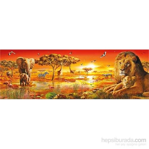 Clementoni 1000 Parça Puzzle Panorama - African Savannah