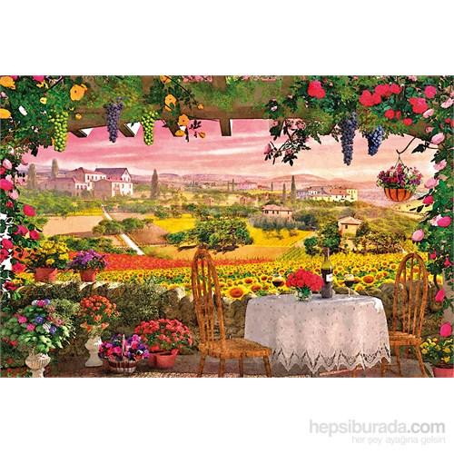Clementoni 1000 Parça Puzzle Romantik İtalya - Toscana