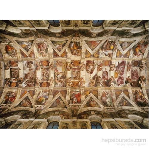 Clementoni 1000 Parça Puzzle Michelangelo - Volta Della Cappella Sistina