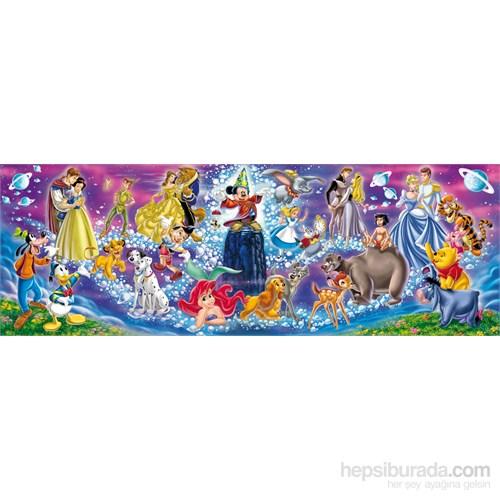 Clementoni 1000 Parça Puzzle Disney Panorama - Disney Family
