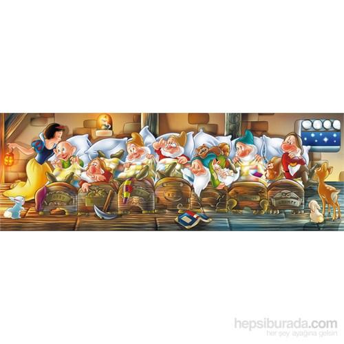 Clementoni 1000 Parça Puzzle Disney Panorama - Biancaneve