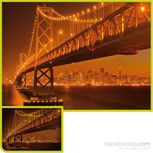 Clementoni 1000 Parça Floresan Puzzle - San Francisco