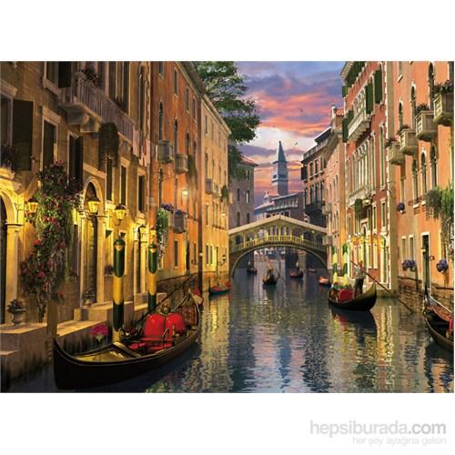 Clementoni 1000 Parça Puzzle Romantik İtalya - Venezia