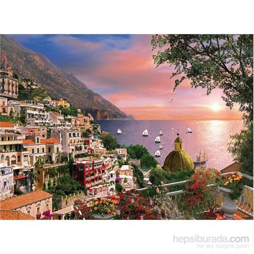 Clementoni 1000 Parça Puzzle Romantik İtalya - Positano