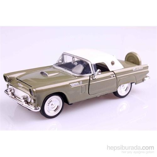 Motomax 1956 Ford Thunderbird 1/24 Die Cast Model Araç