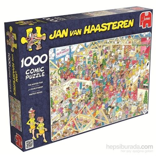 Jumbo 1000 Parça Kış Fuarı Puzzle (Jan van Haasteren)