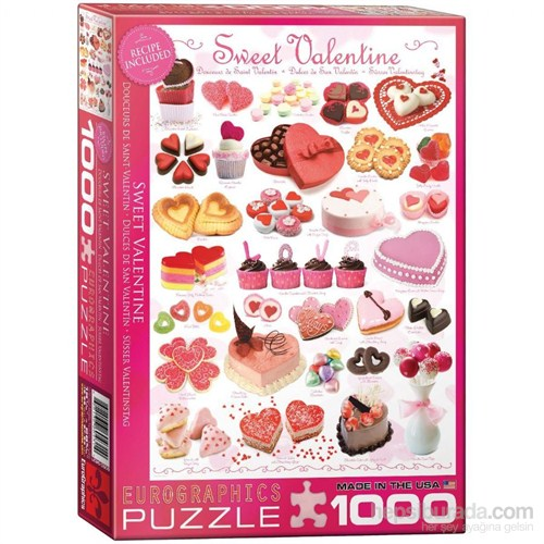 Eurographics Puzzle 1000 Parça Sweet Valentine's