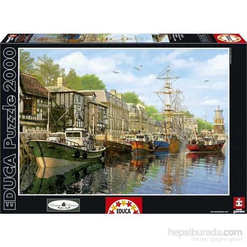 Educa 2000 Parçalık Puzzle Harbour (Liman)