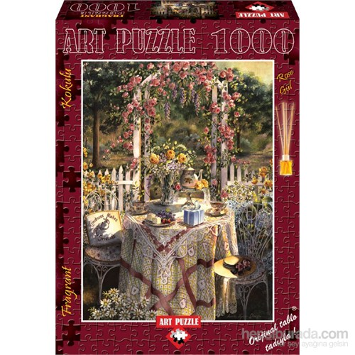 Art Puzzle 1000 Parça Gül Kokulu Puzzle (Beş Çayı)