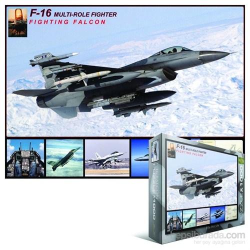 1000 Parça F-16 Savaşan Şahin Puzzle (Eurographics 6000-4956)