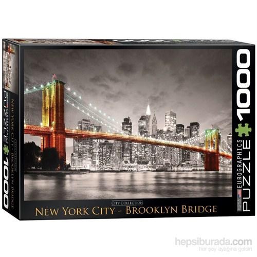 Eurographics 1000 Parça Puzzle New York City Brooklyn Bridge