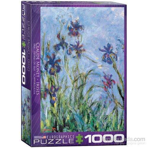 Eurographics Puzzle 1000 Parça Irises (Claude Monet)
