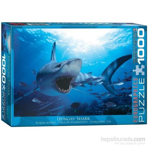 Eurographics 1000 Parça Puzzle Aç Köpek Balığı
