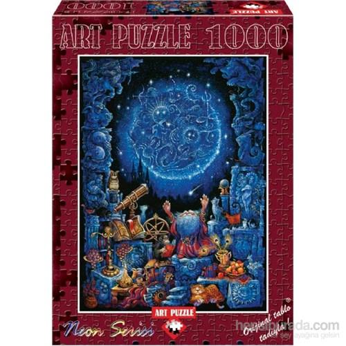 Art Puzzle 1000 Parça Neon Puzzle Astroloji