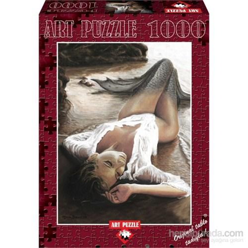 Art Puzzle Gün Batımında Deniz Kızı (1000 Parça)