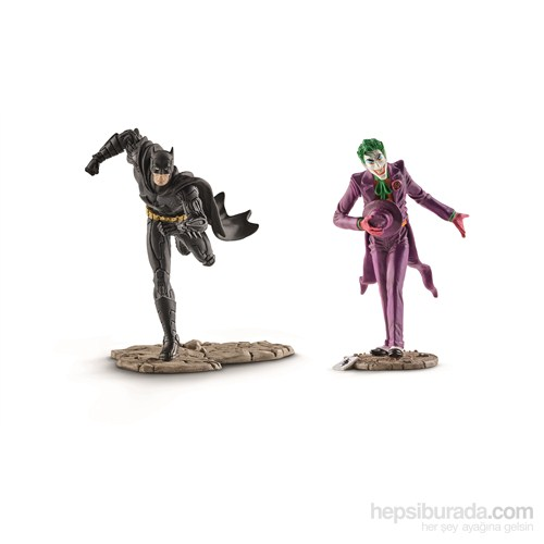 Schleich Batman vs Joker Set