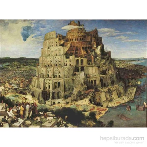 Clementoni Bruegel-The Tower Of Babel - 1500 Parça Puzzle