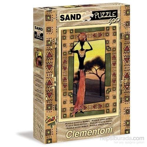 Clementoni Etnie - 500 Parça Kum Puzzle