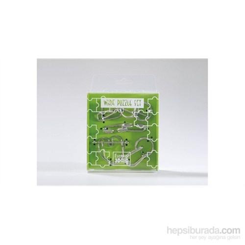 Wıre Puzzle Set- Green