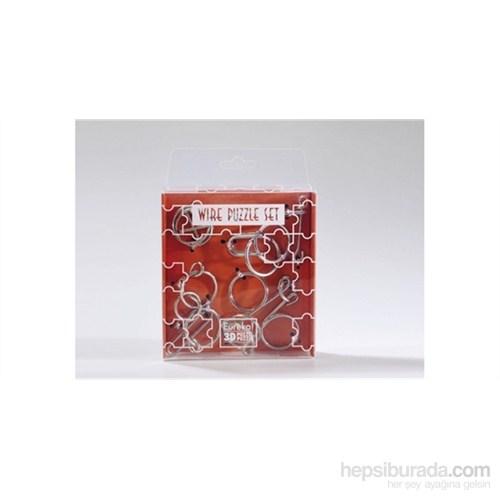 Wıre Puzzle Set-Orange