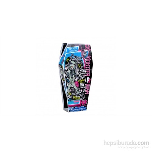 Clementoni Monster High 6 Frankie Stein Tabut Kutu - 150 Parça Puzzle