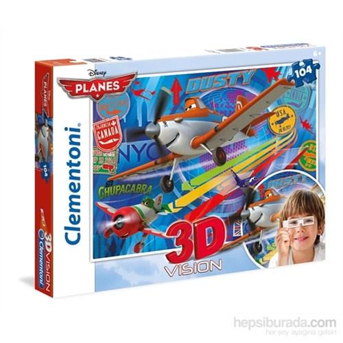 Clementoni 3D Planes - 104 Parça Puzzle