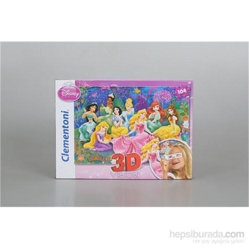 Clementoni Princess - 104 Parça 3D Puzzle