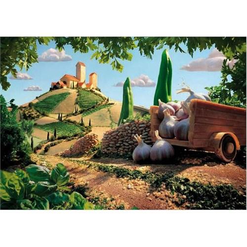 Clementoni Puzzle Tuscany Landscape (500 Parça)