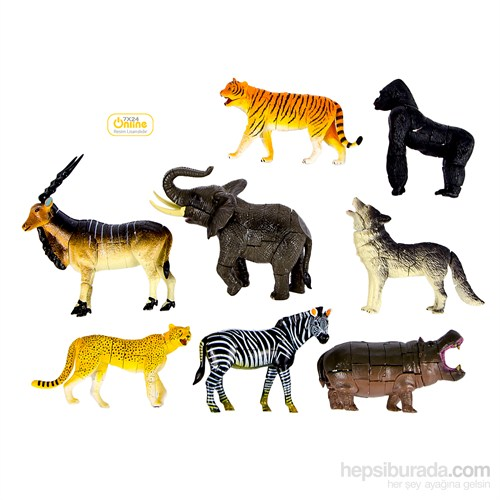 Wild Animal (Vahşi Hayvanlar) 3D Parçalı Puzzle 6602A