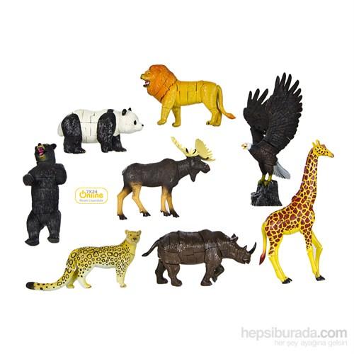 Wild Animal (Vahşi Hayvanlar) 3D Parçalı Puzzle 6602B