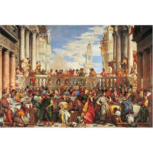 Clementoni Puzzle The Marriage in Cana, Veronese (1000 Parça)