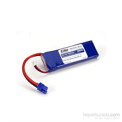 E-Flite 1500Mah 2S 7.4V 20C Lipo Batarya