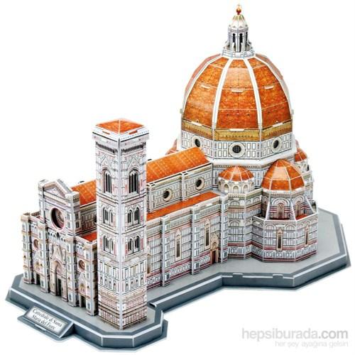 Cubic Fun Floransa Katedrali 123 Parça 3 Boyutlu Puzzle / Maket