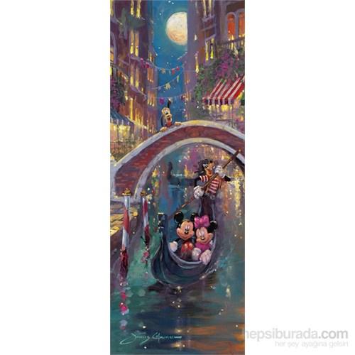 Ravensburger Disney Romantik Venedik 1000 Parça Panorama Puzzle