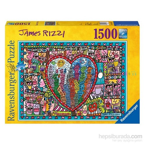 Ravensburger 1500 Parçalık Puzzle J. Rizzi-Sevgi