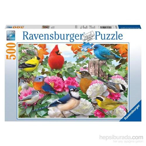 Ravensburger 500 Parça Puzzle Bahçe Kuşları