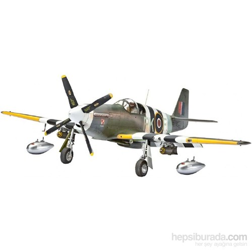 Revell Uçak Maketi 1:48 P-51C Mustang Mkııı