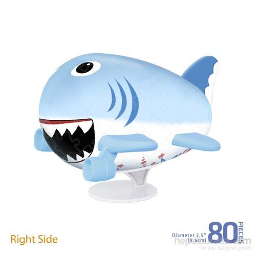 Pintoo Köpekbalığı - 80 Parça 3D Uçak Puzzle