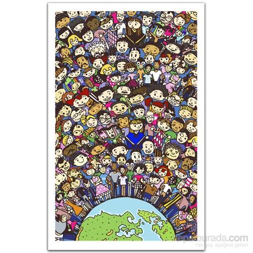 Pintoo Dünya Bir Aile - 1000 Parça Puzzle