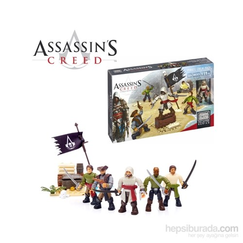 Assassin's Creed Pirate Crew Pack Collector Set