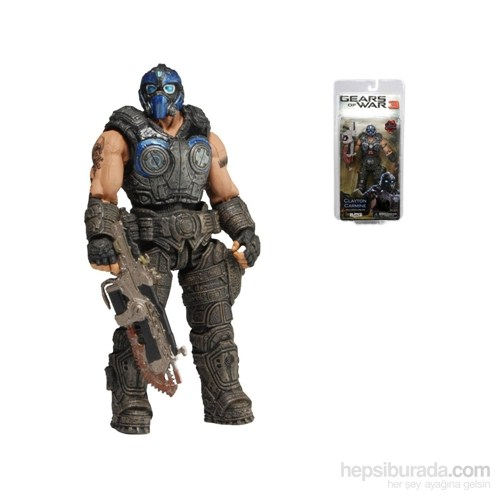 Gears Of War: Clayton Carmine Action Figure Series 1