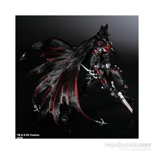 Dc Comics Variant Play Arts Kai Batman Red Limited Edition