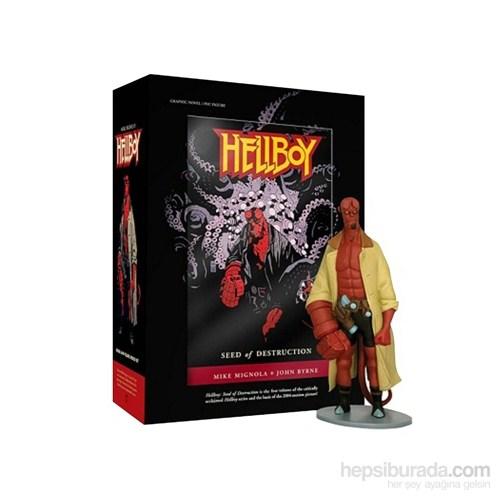 Hellboy Book And Figure Set Hellboy Kitap Ve Figür Seti