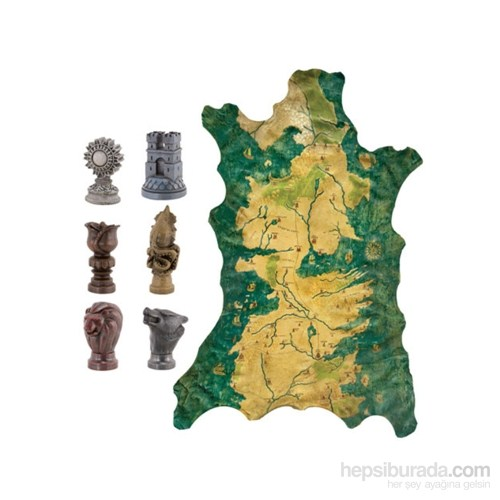 Game Of Thrones Map Marker Set Taht Oyunları Harita Seti