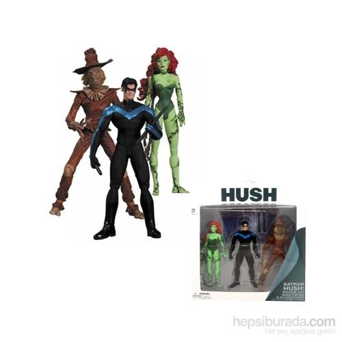 Batman Hush 3'Lü Figür Seti Poison Ivy Nightwing Scarecrow