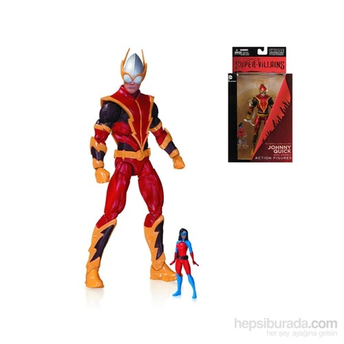 Dc Comics Super Villains Johnny Quick And Atomica Figure