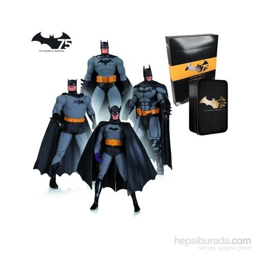 Batman 75Th Anniversary 4 Pack Action Figure Set