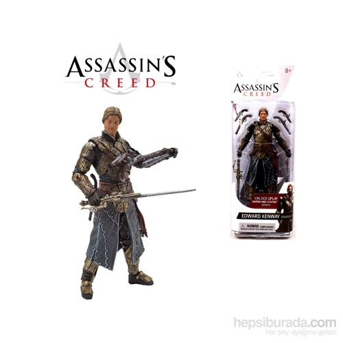 Assassin's Creed Series 3 Edward Kenway Action Figure