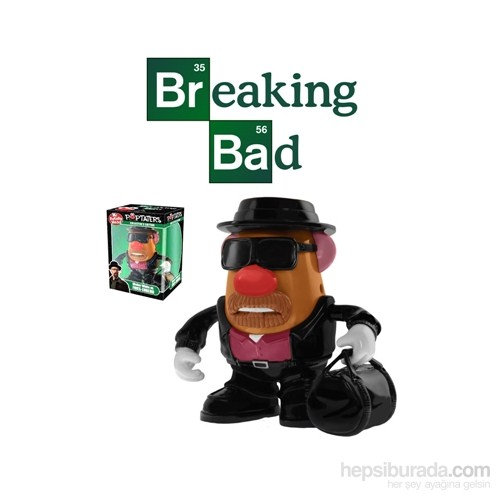 Mr. Potato Breaking Bad Fries-Enberg Bay Patates Kafa