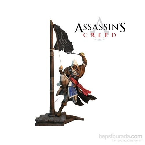 Assassin's Creed Iv: Edward Statue Master Of The Seas